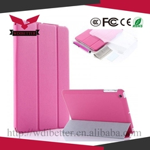 The Best Quality Leather Case Flip Cover for Ipad 6 With Belt Clip