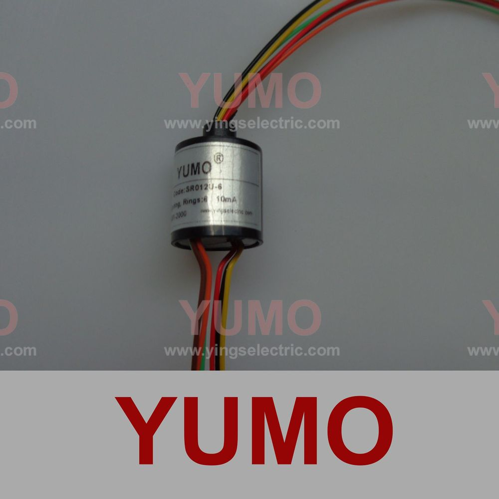 SR012U-6 YUMO top sale S022 electric slip ring