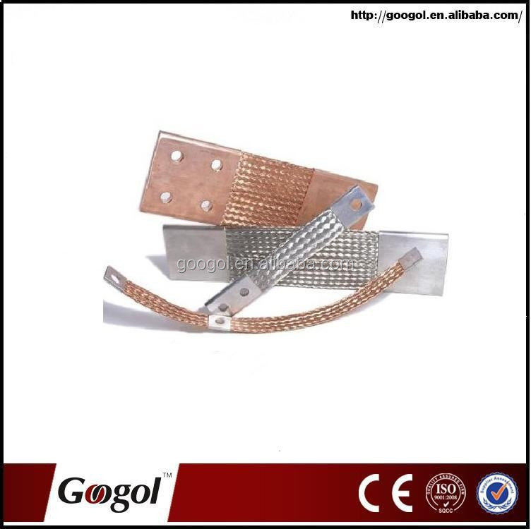 Copper Flexible Connectors, Flexible copper Connector, braided copper wire