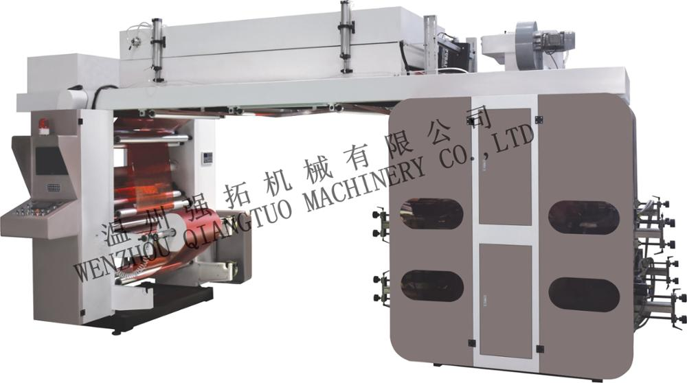 High Speed roll to roll water based ink CI flexo printing machine paper flex printing machine price