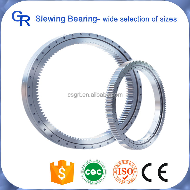 High quality internal gear cross roller rolling element bearings