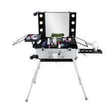 zeal rolling makeup case with lights