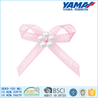 China hand craft superior polyester material make organza bow