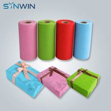 Non Woven Present Pantone Color Tissue Paper Gift Wrapping Paper