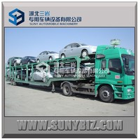 2 axle vehicle car transport truck trailer/high quality transport trailer/Semi Trailer for sale