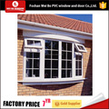 Small size upvc window iron grill design top hung window entilation glass window