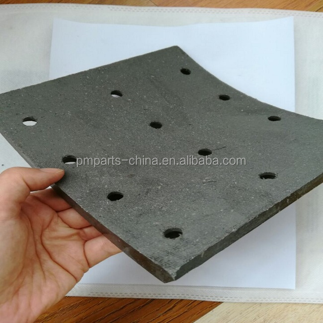 brake pad back plate original spare parts car brake pad