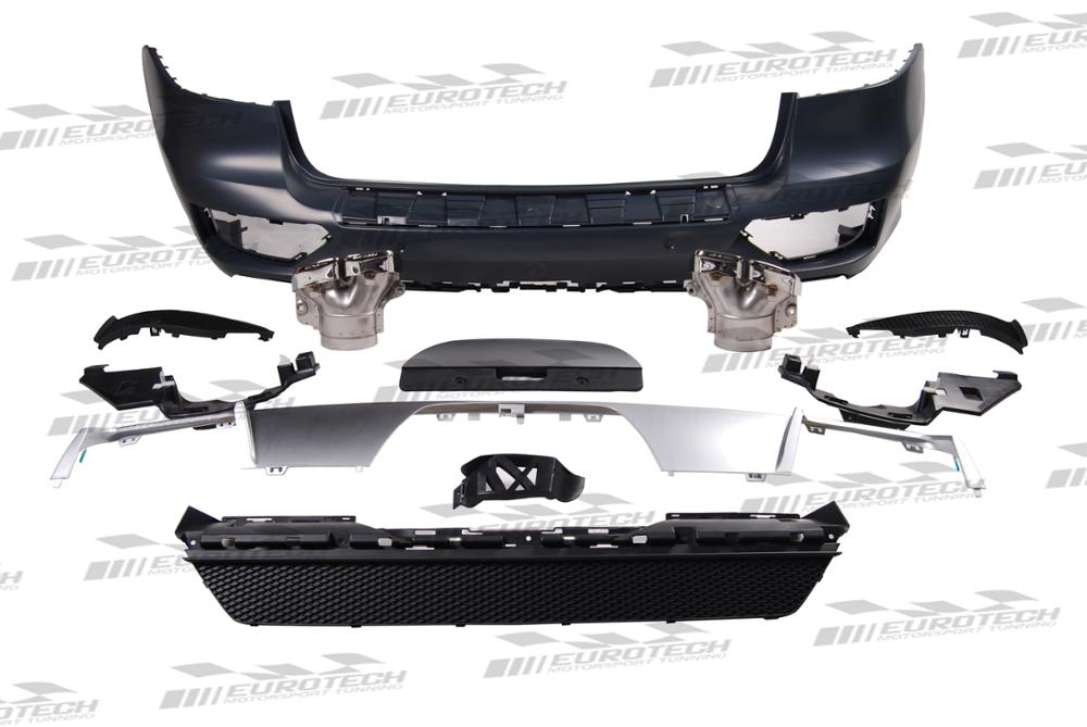 Hot sale PP ML63 style converted body kit for ML CLASS W166 2012-2015y