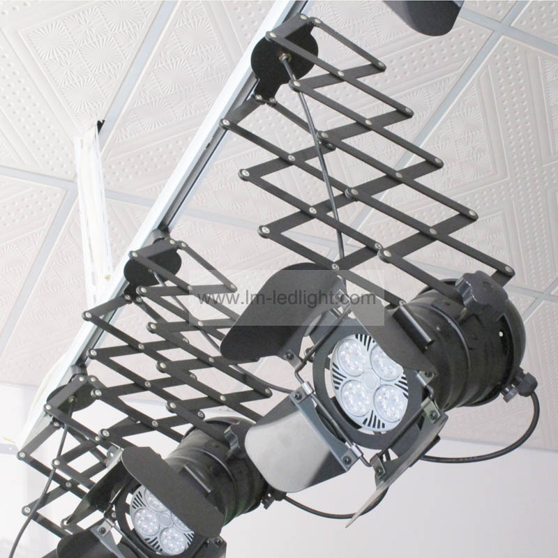 Par30 e27 American Industrial Iron Ceiling Lights in white black track rail Spot light 3030 chip track verlichting