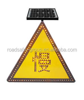 Aluminum Base Road Safety Traffic Arrow Signs/ Traffic Warning Sign