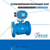 High quality CE proved SS flow tube fluid flow measuring device