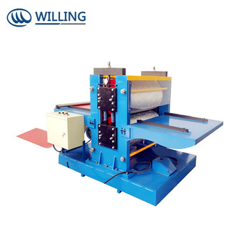Popular Hangzhou GI/GL/PPGI/PPGL Steel Coil Embossing Machinery