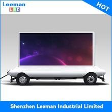 road sign trailers P4.81 led display 500x1000 Flexible led module