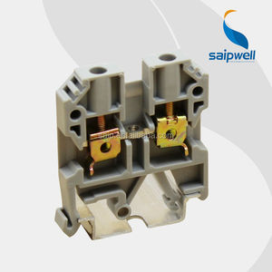 New Industrial Distribution Screw Fixing 35 DIN Rail clip terminal block /jxb terminals
