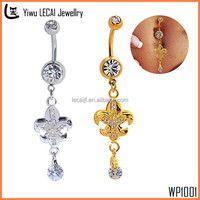 Fashion Dangle Belly Ring , Eagle Belly Button Ring Piercing Jewelry