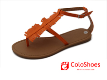 Coface Orange Yellow Color Pakistan Stylish Single Shoe