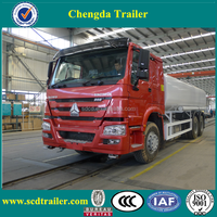 6x4 10 wheeler HOWO oil fuel tanker truck for sale