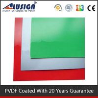 Alusign popular decorative materials acp PVDF Coating apartment building prefab