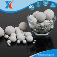 17%~ 23% Alumina Ball MSDS Of Ceramic Ball