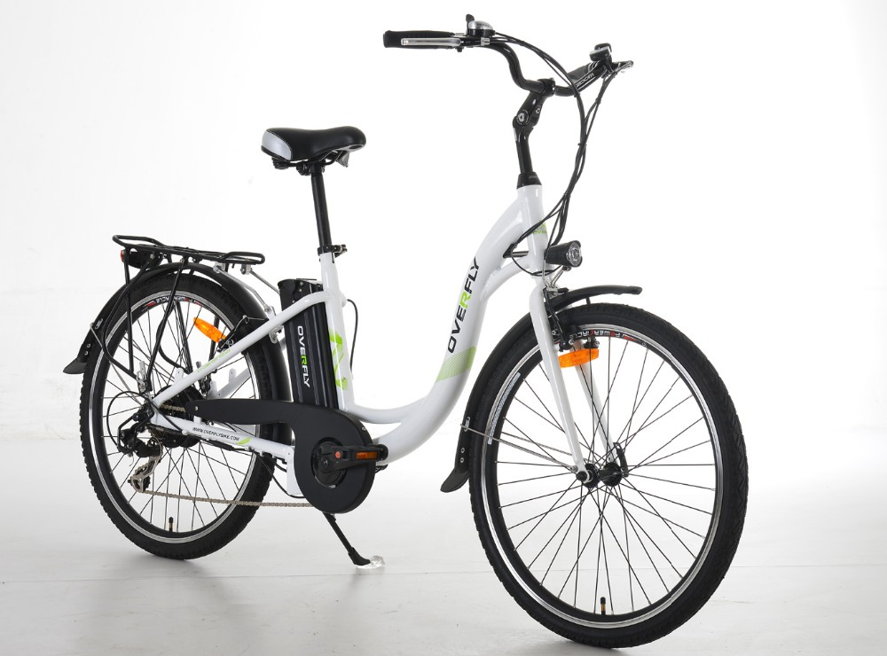 Overfly 26inch electric bicycle city bike with CE certification