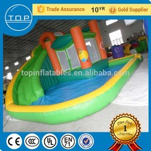 Golden supplier giant inflatable for sale game big water slide with high quality