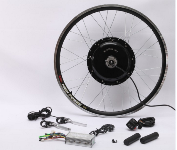 Small Lithium-ion gearless bike hub motor