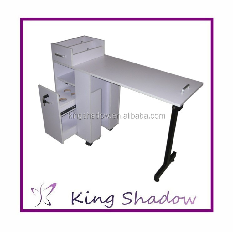 2016 Kingshadow manicure table nail salon furniture nail manicure table vented nail table