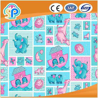 High quality cotton flannel shirt fabric for baby