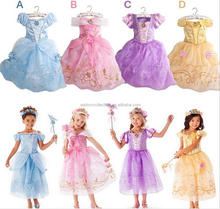 walson fashion girls princess fancy dress costume for birthday party