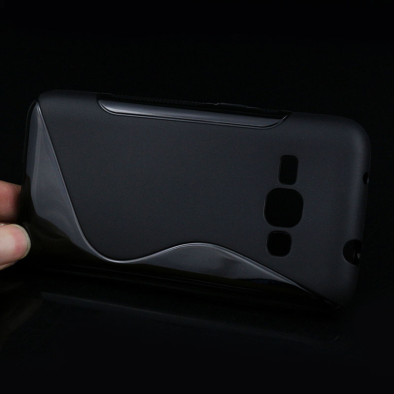 J1 2016 S lines Soft TPU Case For Samsung Galay J1 2016 J120 J120F J5 J7 Back Protect Rubber Matte Silicone Phone Bags