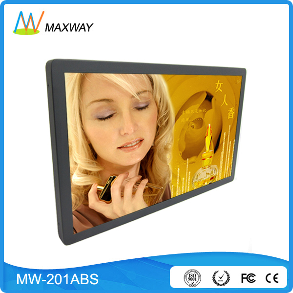 wide screen LCD advertising 20 inch digital photo frame