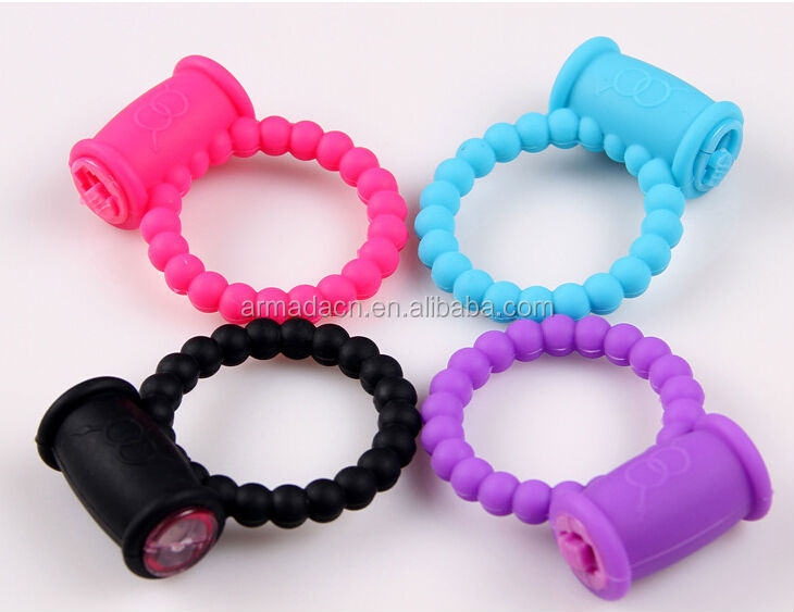 High Quality Sex Products Strong Vibration Silicone Penis Cock Ring For Men for Delaying Jaculation