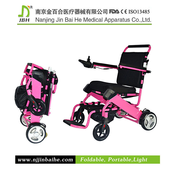 High quality aluminum frame electric wheelchair