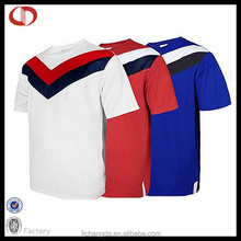 Latest design wholesale football jersey men's soccer&football shirts with low price