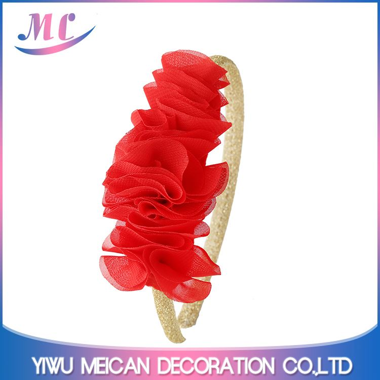 Wholesale prices good quality wide plastic plain hair band from China