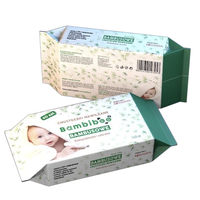 Besuper WK021 Factory Direct OEM Cleaning Tissue Paper Organic 100% Biodegradable Baby Wet Wipes Pouch Manufacturer