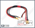 ESC extension lead charging cable wire harness banana plug connector