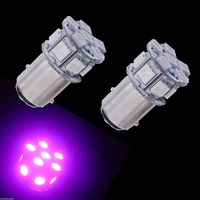 1157 1158 Bay15D 13 SMD 5050 LED Auto Car Truck Motorcycle STOP BRAKE LIGHT Purple Colors