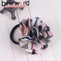 Chic Women's Fashion Hair Accessories Flower Elastic Hair Tie Ponytail Holder