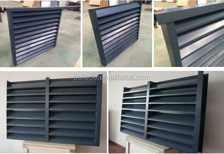 commercial aluminum waterproof ventilation wall louver. Black Bedroom Furniture Sets. Home Design Ideas