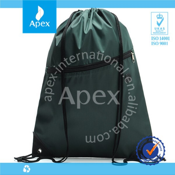 Japan nylon drawstring travel bag back pack bag
