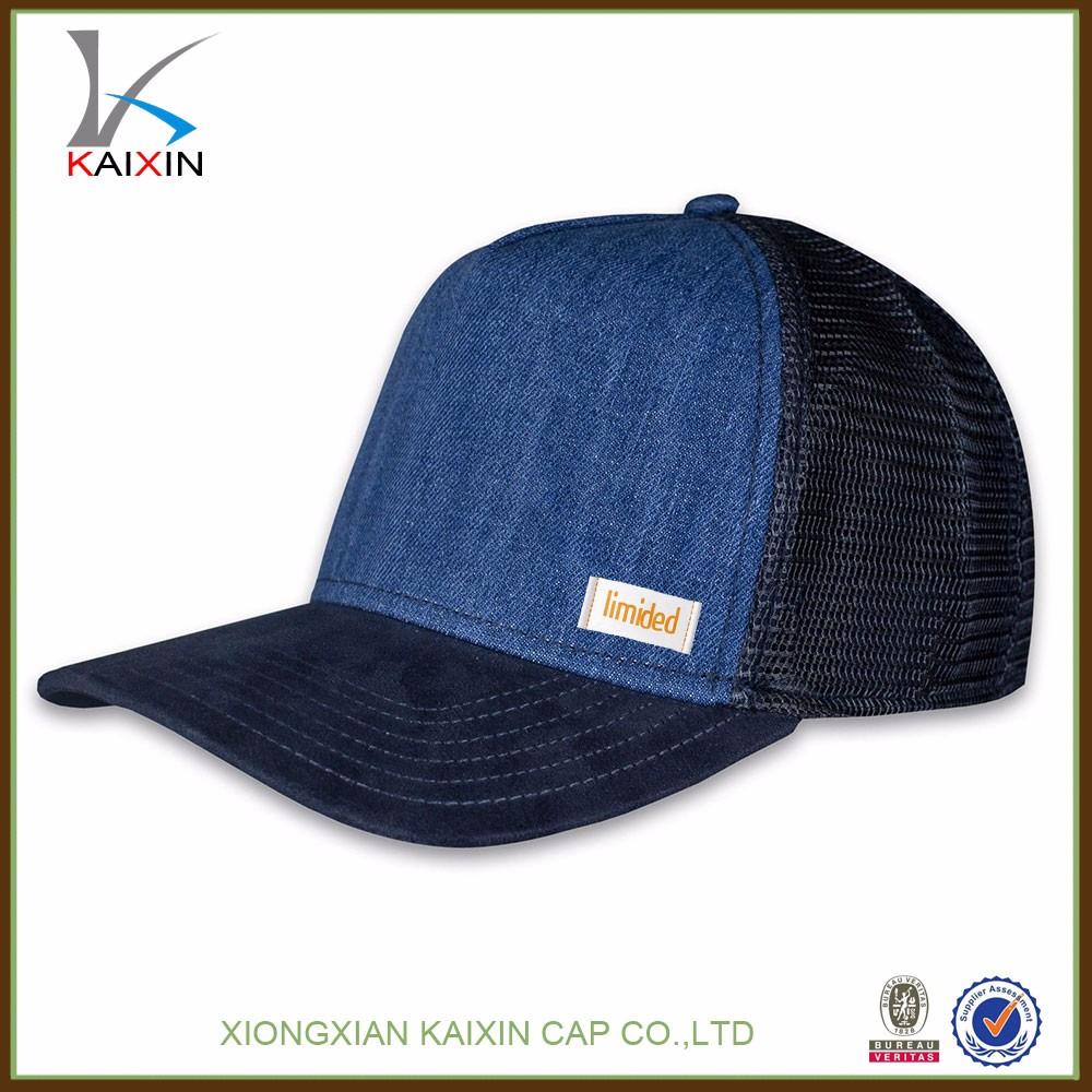 custom design your own logo baseball trucker mesh cap hats