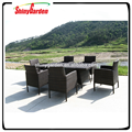High quality 6 pcs rattan round rattan sofa set