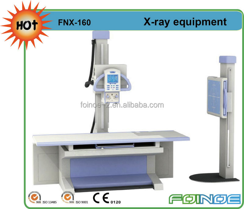 FNX160 CE approved high frequency radiography 300ma medical x-ray machine prices