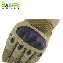 Army BROWN color Carbon fiber tactical gloves