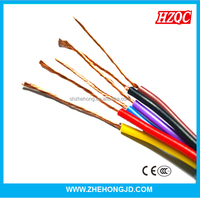 450/750V Copper Conductor PVC Insulated Flexible Cable and Wires
