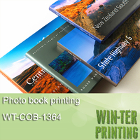 WT-COB-1364 Book photo hardcover book printing