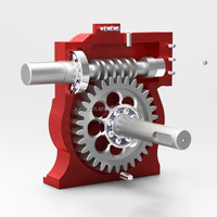 CNC machining parts reduction gears from OEM factory