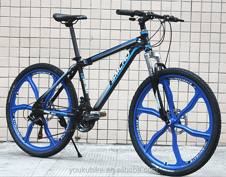 "Bike Mountain26 *17"" mountain bicycle 6 spokes One wheel damping disc brake mountain bike"