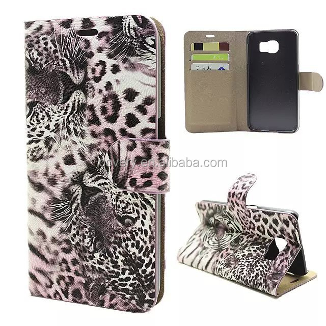 For Samsung S6 Cases Sexy Leopard Pattern